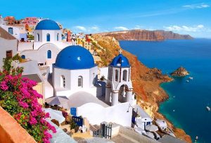 ashore-on-santorini